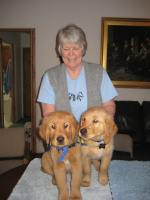 Carole & Pups Stan & Scotty